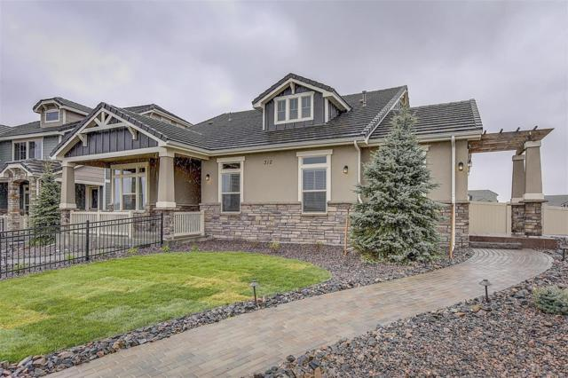 312 Highlands Circle, Erie, CO 80516 (#7660576) :: HomeSmart Realty Group