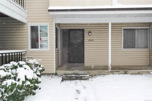 13649 E Yale Avenue, Aurora, CO 80014 (#7663519) :: The DeGrood Team