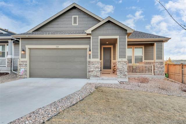 322 Tippen Place, Castle Rock, CO 80104 (#7663894) :: Berkshire Hathaway HomeServices Innovative Real Estate