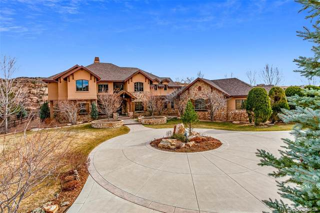 9650 S Cougar Road, Littleton, CO 80127 (#7665129) :: The DeGrood Team