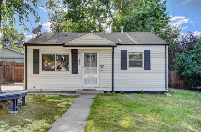 179 S Vrain Street, Denver, CO 80219 (MLS #7666716) :: 8z Real Estate
