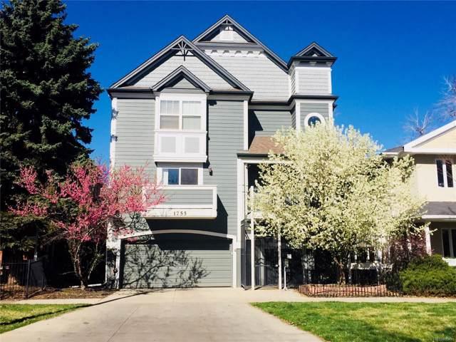 1755 N Emerson Street F, Denver, CO 80218 (#7667491) :: The Peak Properties Group