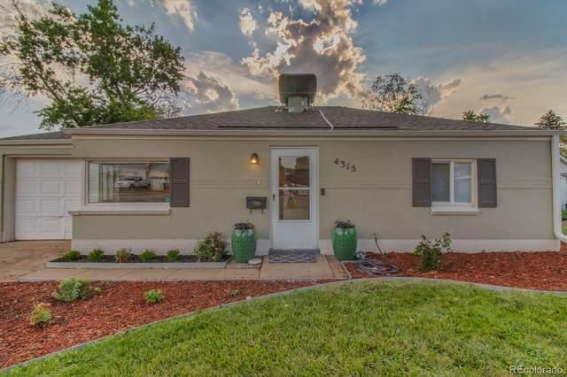4315 S Elati Street, Englewood, CO 80110 (#7667759) :: Venterra Real Estate LLC