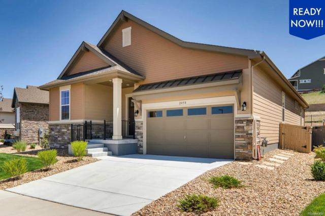 2458 Lassen Lane, Castle Rock, CO 80109 (#7670580) :: Bicker Realty