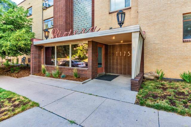 1175 N Emerson Street #205, Denver, CO 80218 (#7671408) :: The HomeSmiths Team - Keller Williams