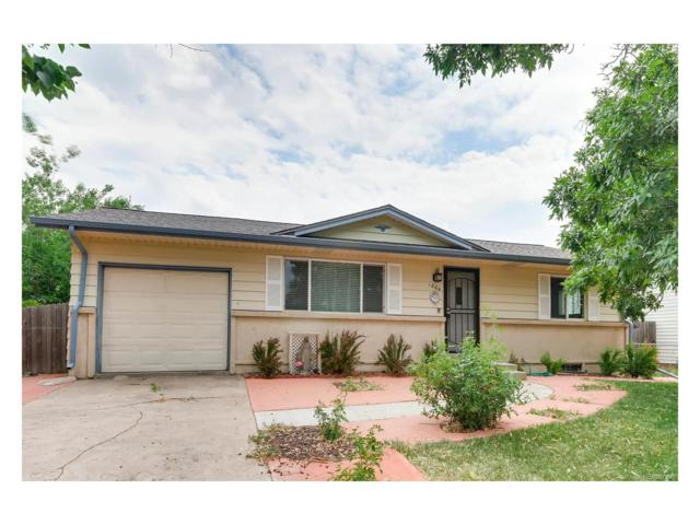 1004 Ouray Street, Aurora, CO 80011 (MLS #7672508) :: 8z Real Estate