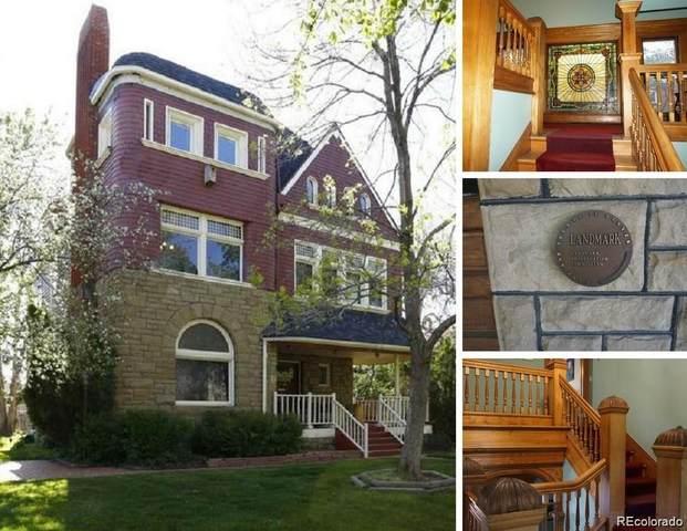1444 Stuart Street, Denver, CO 80204 (#7674969) :: Venterra Real Estate LLC