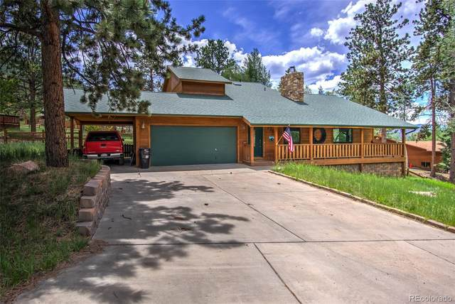 1205 Telemark Drive, Woodland Park, CO 80863 (#7678915) :: The Dixon Group