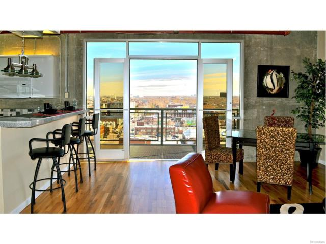 2020 Arapahoe Street #1150, Denver, CO 80205 (#7681021) :: The Pete Cook Home Group
