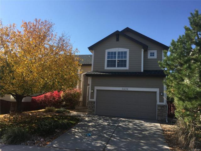 3472 Foxridge Trail, Highlands Ranch, CO 80126 (#7684473) :: The Dixon Group