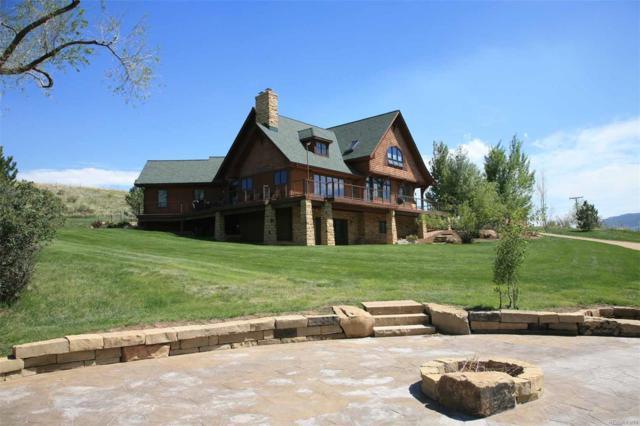 3400 N County Road 25, Bellvue, CO 80512 (#7686169) :: The Peak Properties Group