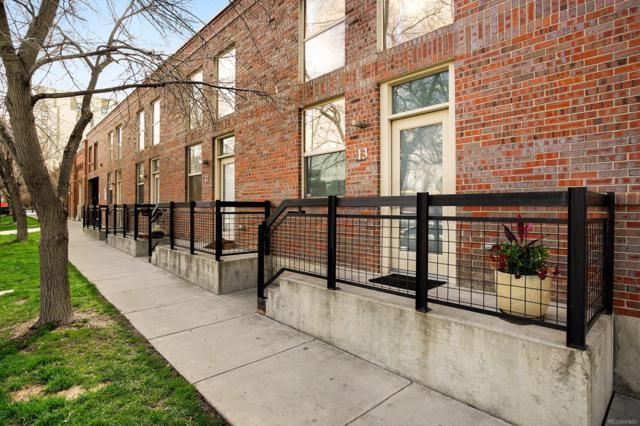 1111 Osage Street #13, Denver, CO 80204 (MLS #7687243) :: 8z Real Estate