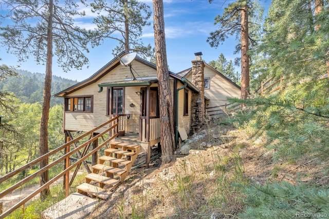 7510 Blue Creek Road, Evergreen, CO 80439 (#7687803) :: The HomeSmiths Team - Keller Williams