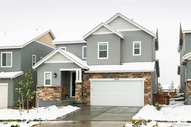 15216 W 93rd Avenue, Arvada, CO 80007 (#7689367) :: James Crocker Team