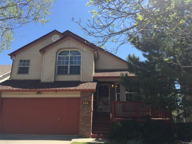 484 Somerset Drive, Golden, CO 80401 (#7690114) :: The Peak Properties Group