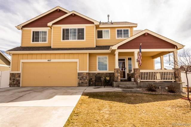467 Kit Carson Avenue, Severance, CO 80550 (#7691774) :: The Peak Properties Group