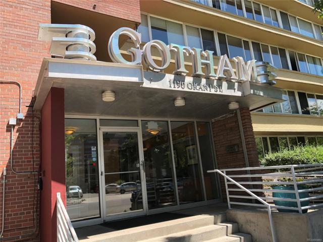1196 N Grant Street #507, Denver, CO 80203 (#7694970) :: Bring Home Denver