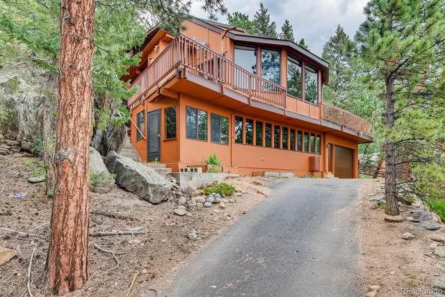 31408 Kings Valley W, Conifer, CO 80433 (MLS #7696071) :: 8z Real Estate