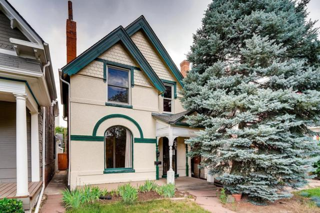 1733 Clarkson Street, Denver, CO 80218 (#7698750) :: Mile High Luxury Real Estate