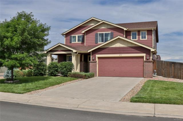 279 Shenandoah Way, Lochbuie, CO 80603 (#7699087) :: The Griffith Home Team