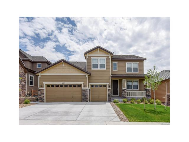 14272 Greenfield Drive, Parker, CO 80134 (MLS #7700999) :: 8z Real Estate