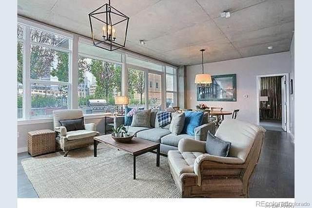 1620 Little Raven Street #101, Denver, CO 80202 (MLS #7701107) :: Neuhaus Real Estate, Inc.