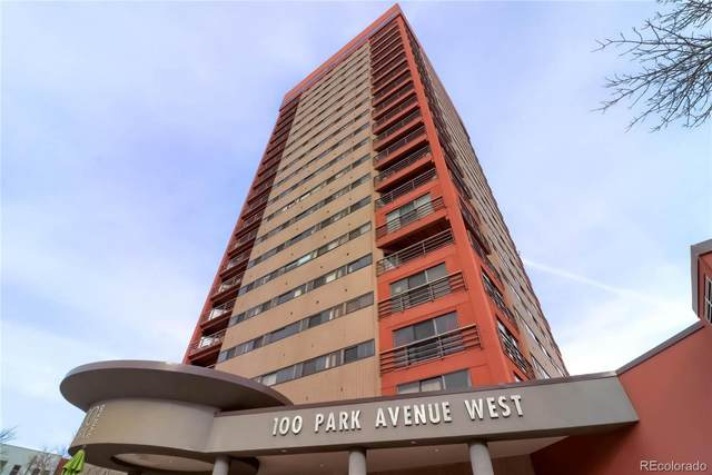100 Park Avenue #404, Denver, CO 80205 (#7702483) :: Stephanie Fryncko | Keller Williams Integrity
