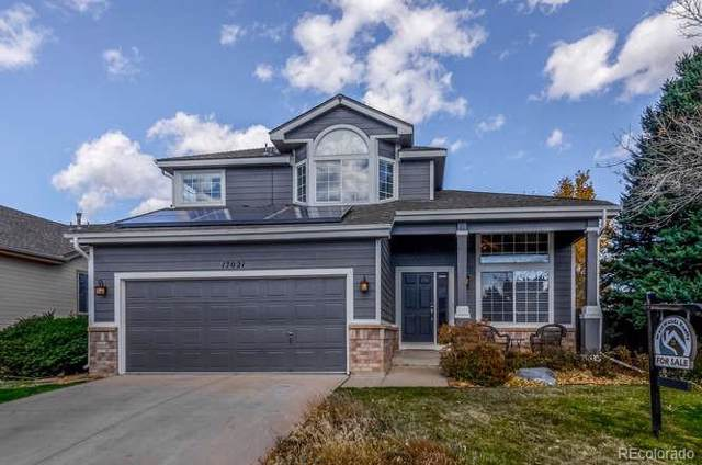 17021 W 64th Drive, Arvada, CO 80007 (#7703027) :: The DeGrood Team