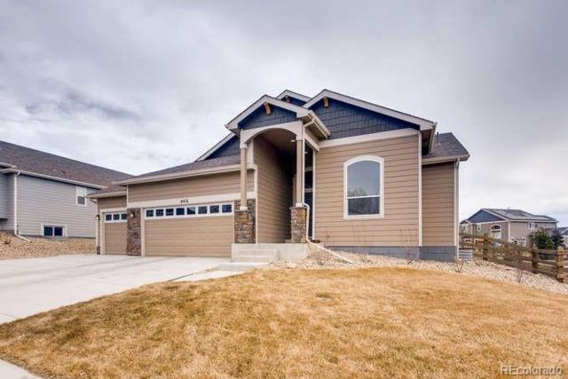 846 Canyonlands Street, Berthoud, CO 80513 (#7716643) :: Compass Colorado Realty