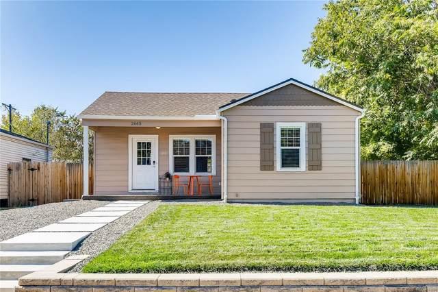 2665 S Pennsylvania Street, Denver, CO 80210 (MLS #7718860) :: 8z Real Estate