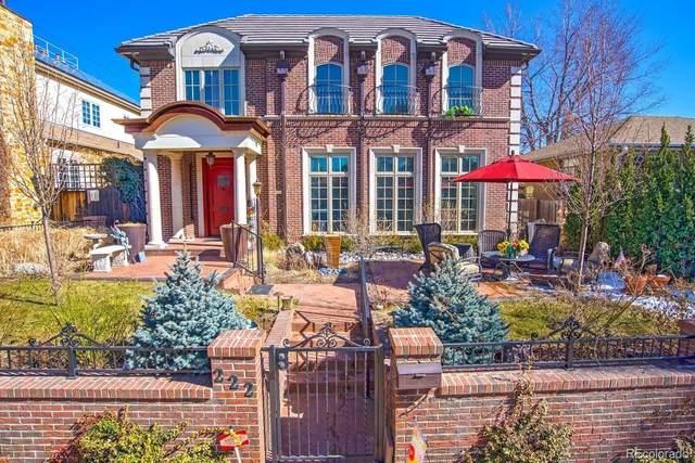 222 Cook Street, Denver, CO 80206 (MLS #7718897) :: 8z Real Estate
