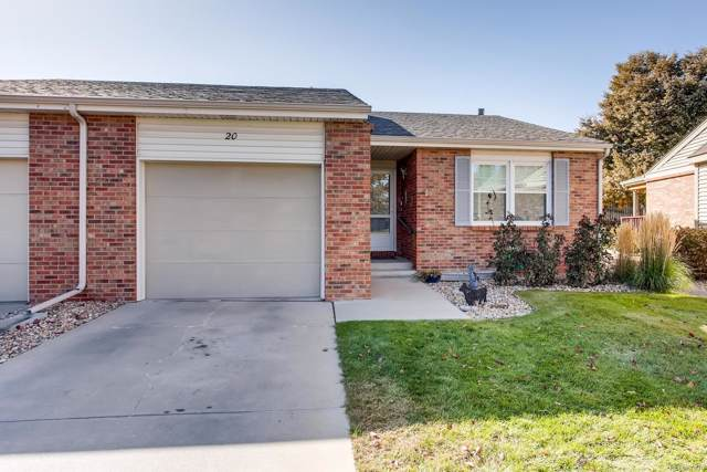 3950 W 12th Street #20, Greeley, CO 80634 (#7719899) :: The Heyl Group at Keller Williams