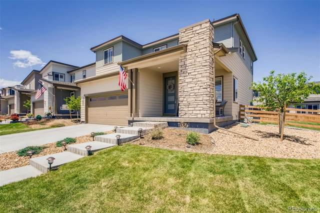 18051 E 106th Place, Commerce City, CO 80022 (MLS #7721066) :: 8z Real Estate