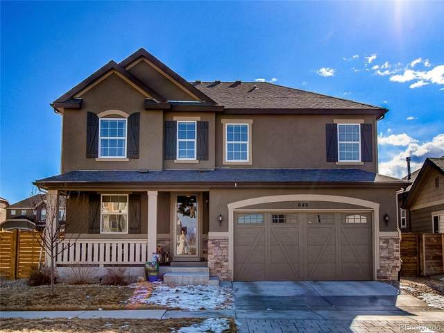 640 E Dry Creek Place, Littleton, CO 80122 (#7725030) :: The Dixon Group