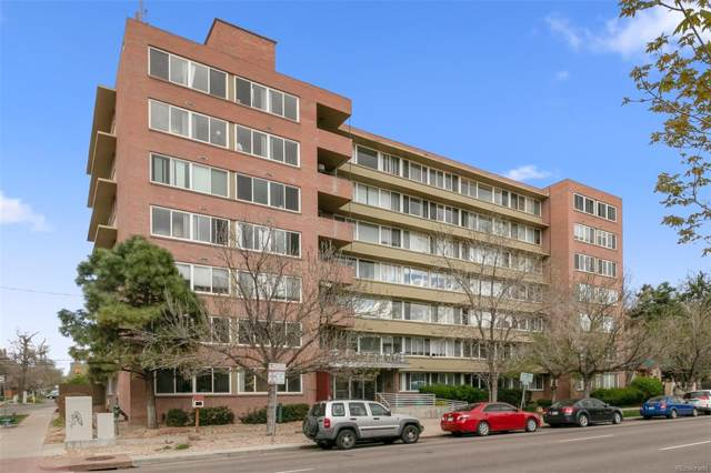 1196 N Grant Street #411, Denver, CO 80203 (#7727592) :: The HomeSmiths Team - Keller Williams