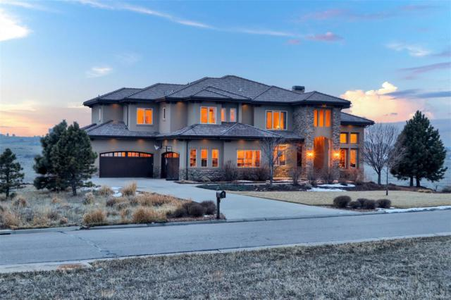 9863 Sara Gulch Circle, Parker, CO 80138 (MLS #7734344) :: Kittle Real Estate