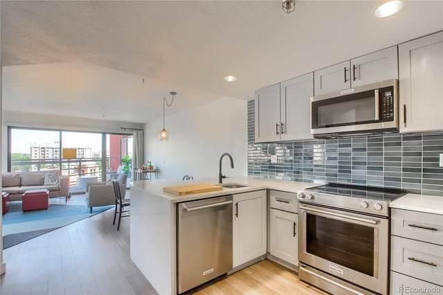 100 Park Avenue W #604, Denver, CO 80205 (#7735943) :: The HomeSmiths Team - Keller Williams