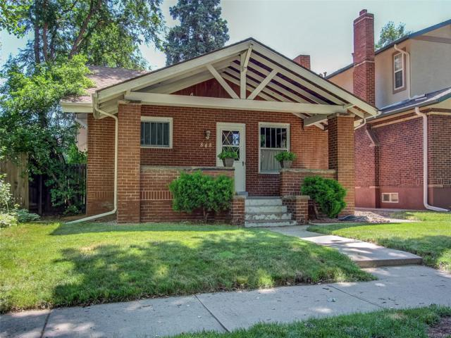 848 S Corona Street, Denver, CO 80209 (#7742481) :: Sellstate Realty Pros