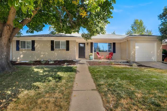 5563 E Utah Place, Denver, CO 80222 (#7745248) :: The Peak Properties Group
