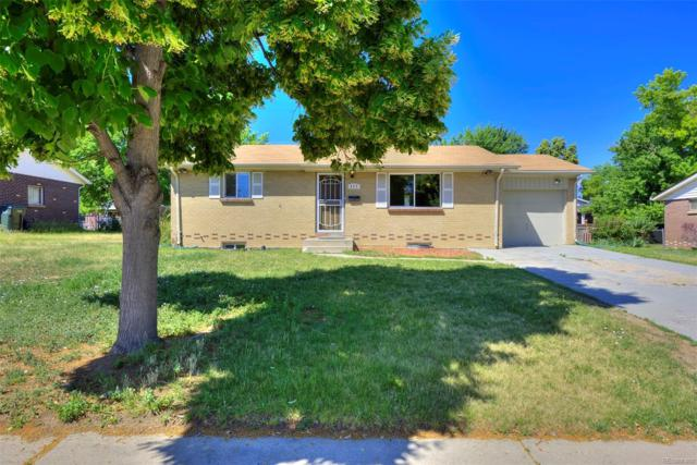 377 S Revere Street, Aurora, CO 80012 (#7751389) :: Structure CO Group
