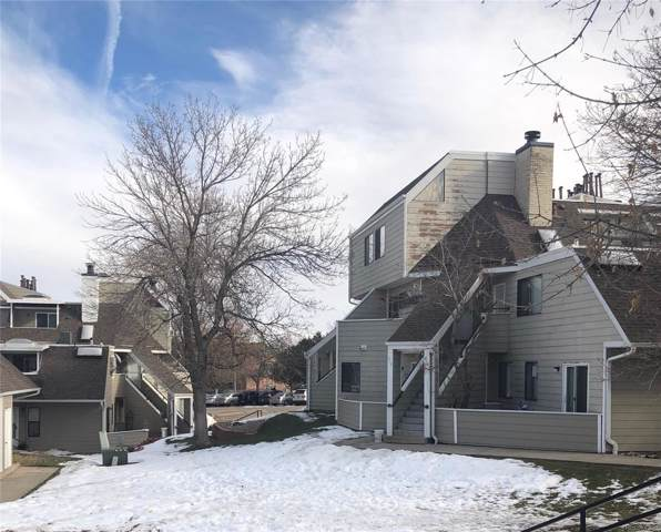 12482 W Nevada Place #104, Lakewood, CO 80228 (#7752300) :: The Dixon Group