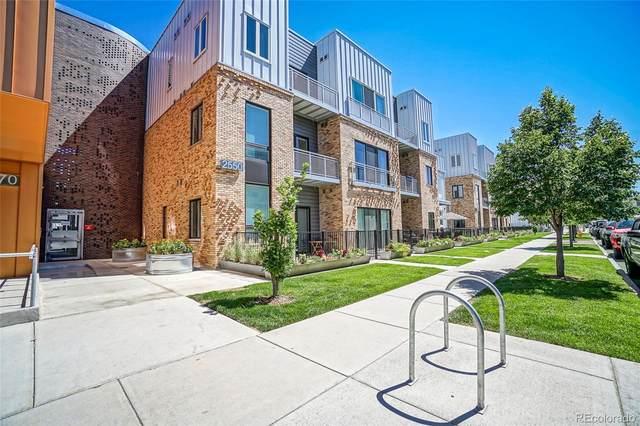 2550 Lawrence Street B106, Denver, CO 80205 (MLS #7752628) :: 8z Real Estate