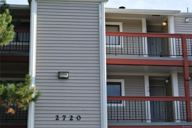 2720 W 86th Avenue #76, Westminster, CO 80031 (#7753236) :: Relevate   Denver