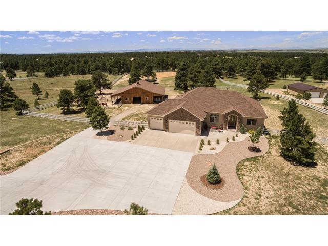 37595 Wild Horse Trail, Elizabeth, CO 80107 (MLS #7754281) :: 8z Real Estate