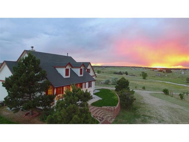 6690 Sunset Circle, Elizabeth, CO 80107 (MLS #7754315) :: 8z Real Estate