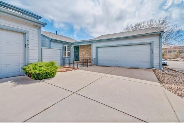 14162 E Baltic Place, Aurora, CO 80014 (#7755219) :: The Pete Cook Home Group