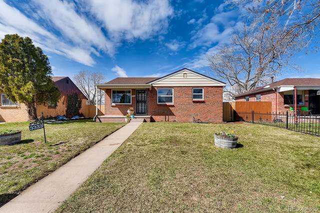 3333 Newport Street, Denver, CO 80207 (#7755389) :: The Brokerage Group