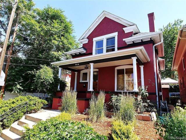 914 E 13th Avenue, Denver, CO 80218 (#7761233) :: The Artisan Group at Keller Williams Premier Realty