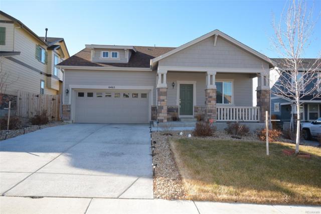 6465 S Harvest Street, Aurora, CO 80016 (#7761759) :: House Hunters Colorado