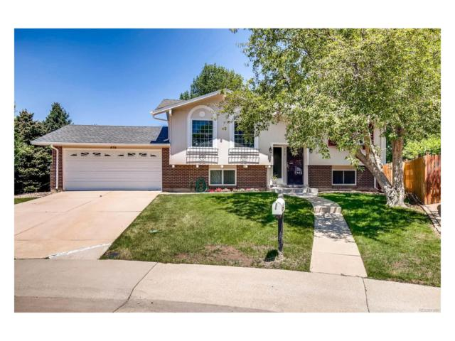 572 S Everett Court, Lakewood, CO 80226 (#7764782) :: The City and Mountains Group